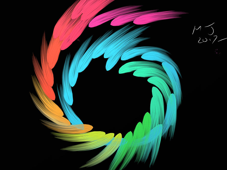 Spiralbow Digital Art