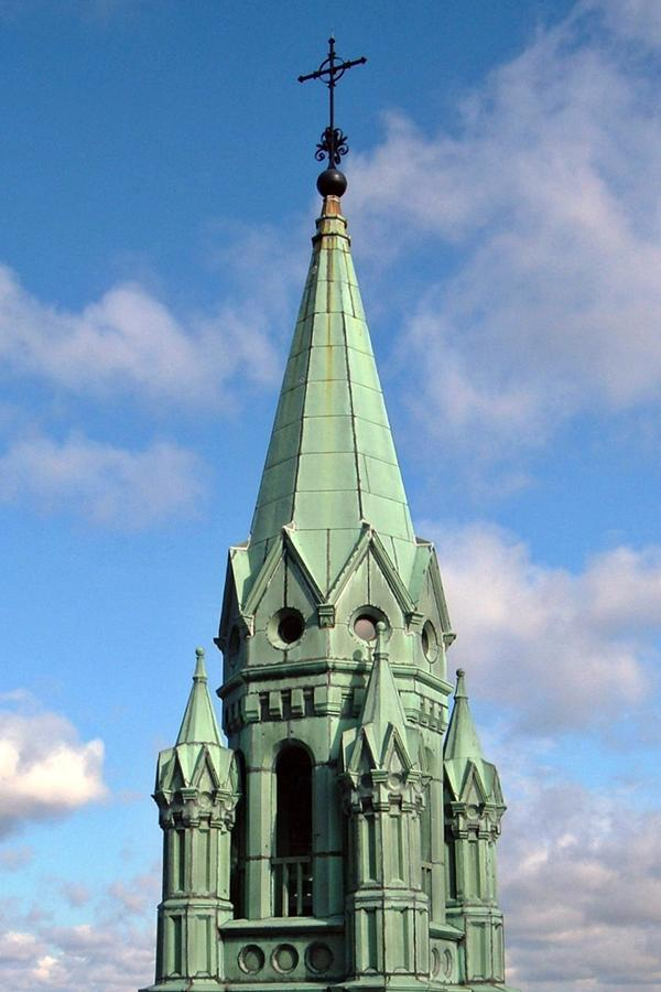 Holy Hill Photographs Photograph - Spire by Patrick Czaplewski