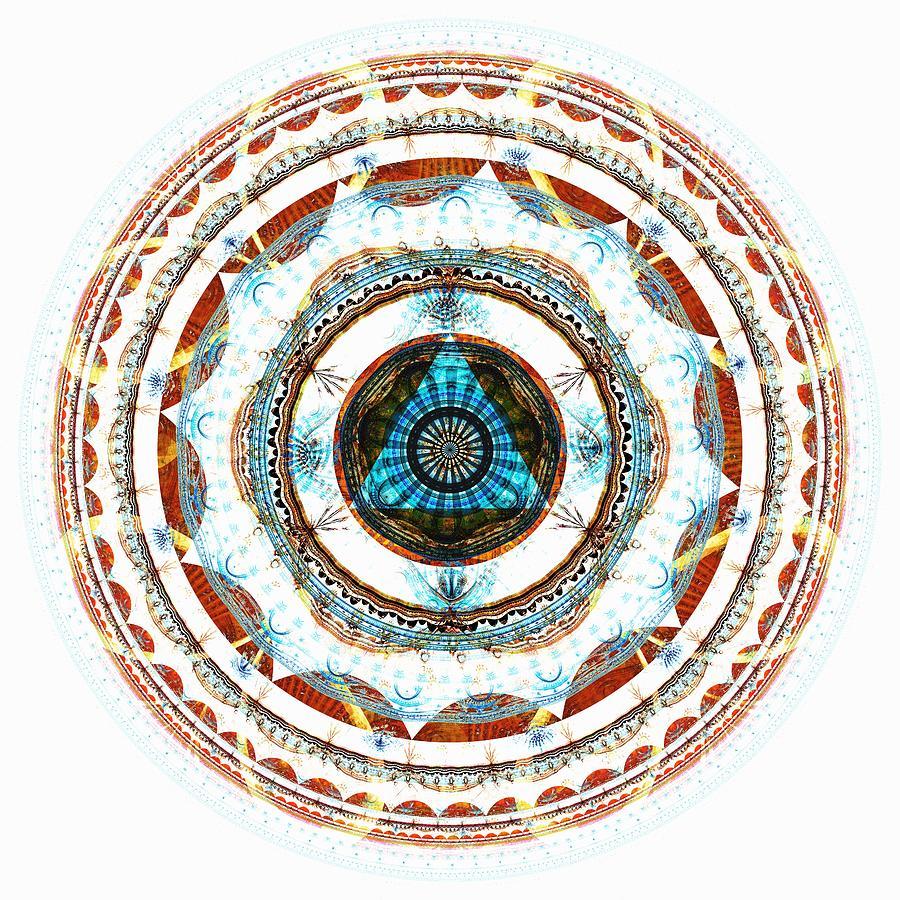 Interior Digital Art - Spirit Circle by Anastasiya Malakhova