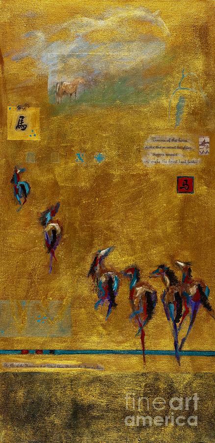 Spirit Horses Painting