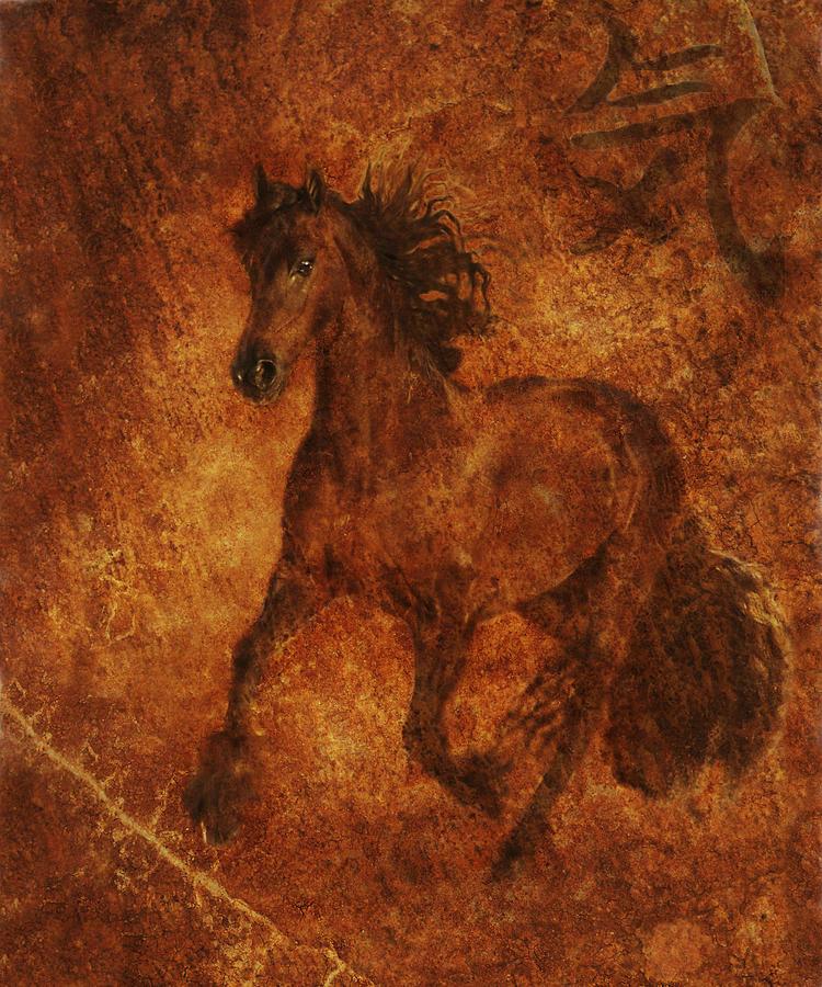 Chinese Horse Art Photograph - Spirit  by Melinda Hughes-Berland