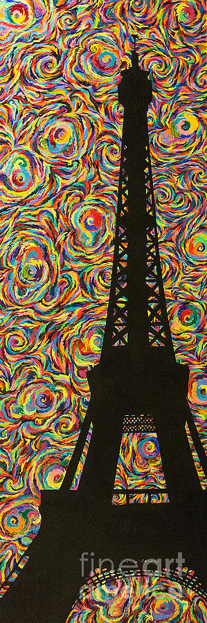Spirit Painting - Spirit Of Paris by Sean Ward
