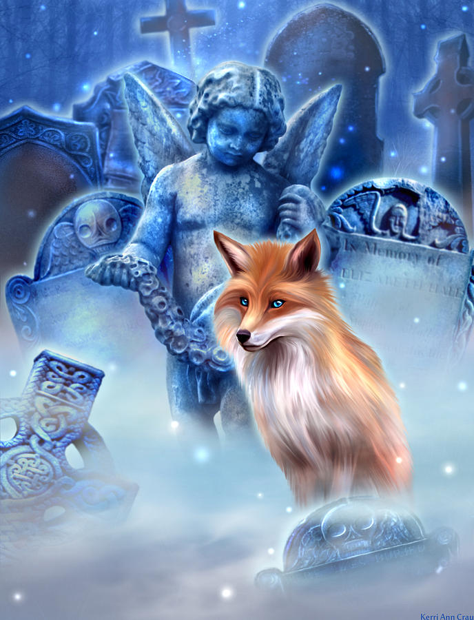Spirit Of The Fox Digital Art