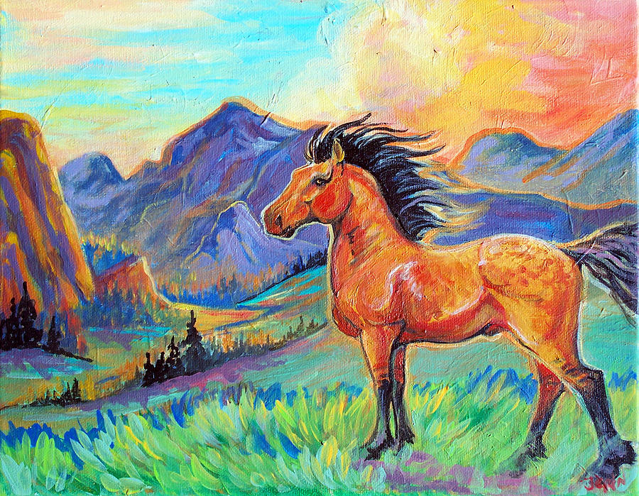 Spirit Stallion Painting
