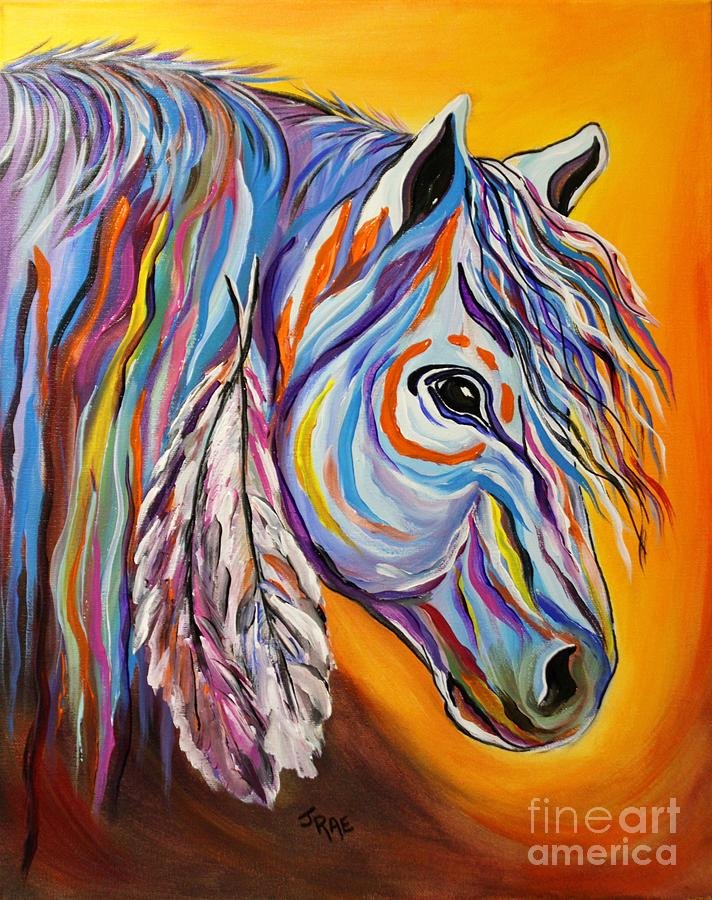 spirit War Horse Painting