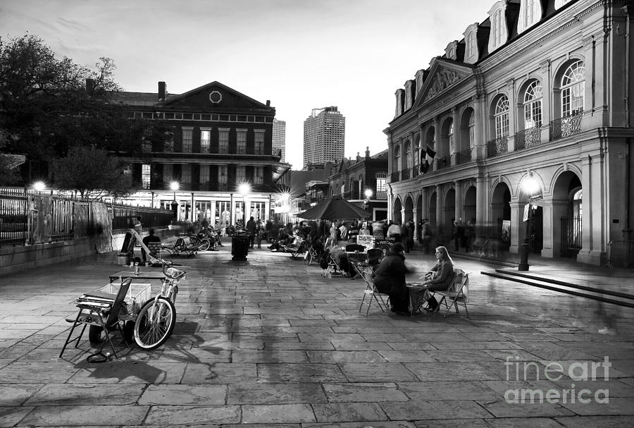 Spirits In Jackson Square Photograph