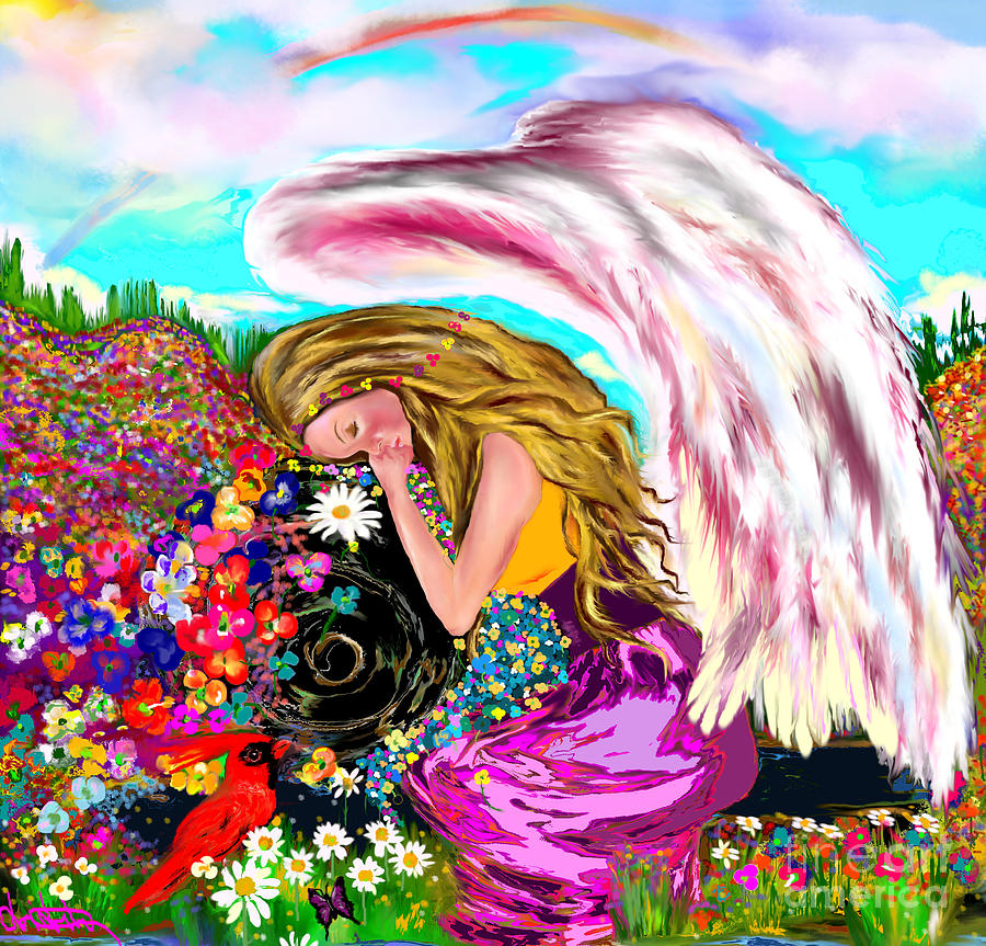 Spiritual Awakening is a drawing by Lori Lovetere which was uploaded ...