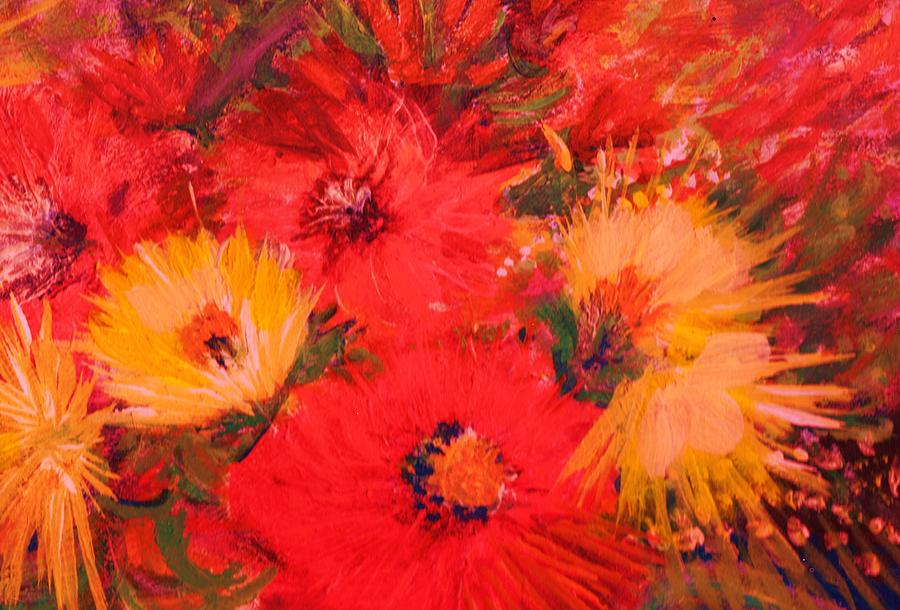 Splashy Floral IIi Painting