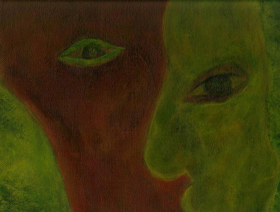 Mental Health Prints Painting - Split Decisions by Abram Freitas