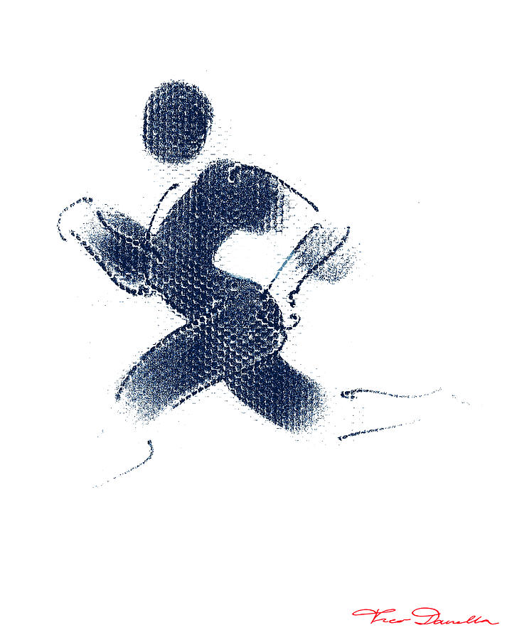 Sport A 1 Drawing  - Sport A 1 Fine Art Print