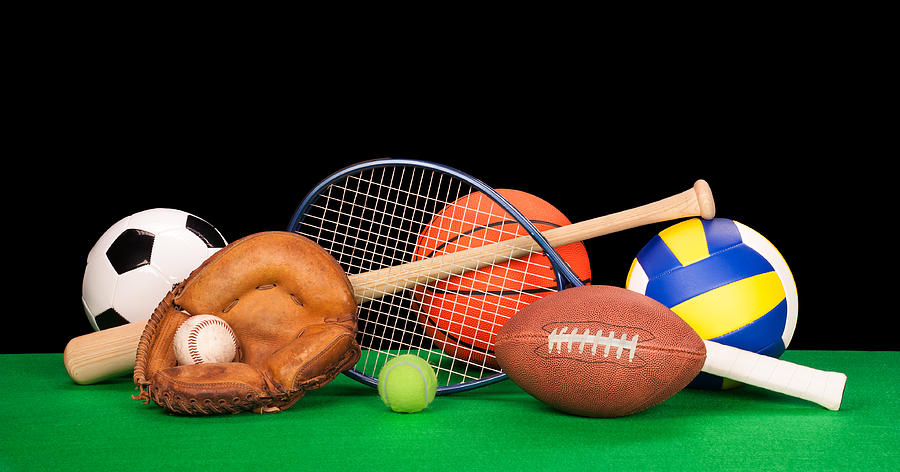 Sports Equipment Photograph  - Sports Equipment Fine Art Print
