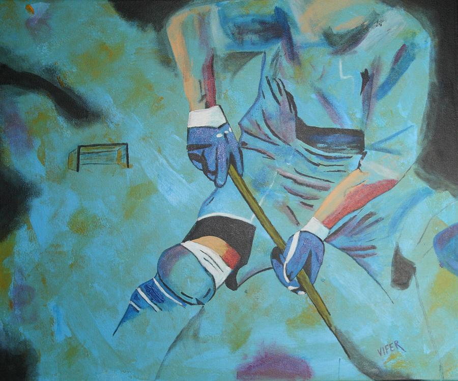 Vifer Pastel - Sports Hockey-2 by Vitor Fernandes VIFER
