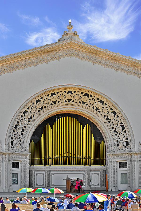 Spreckles Organ San Diego Photograph