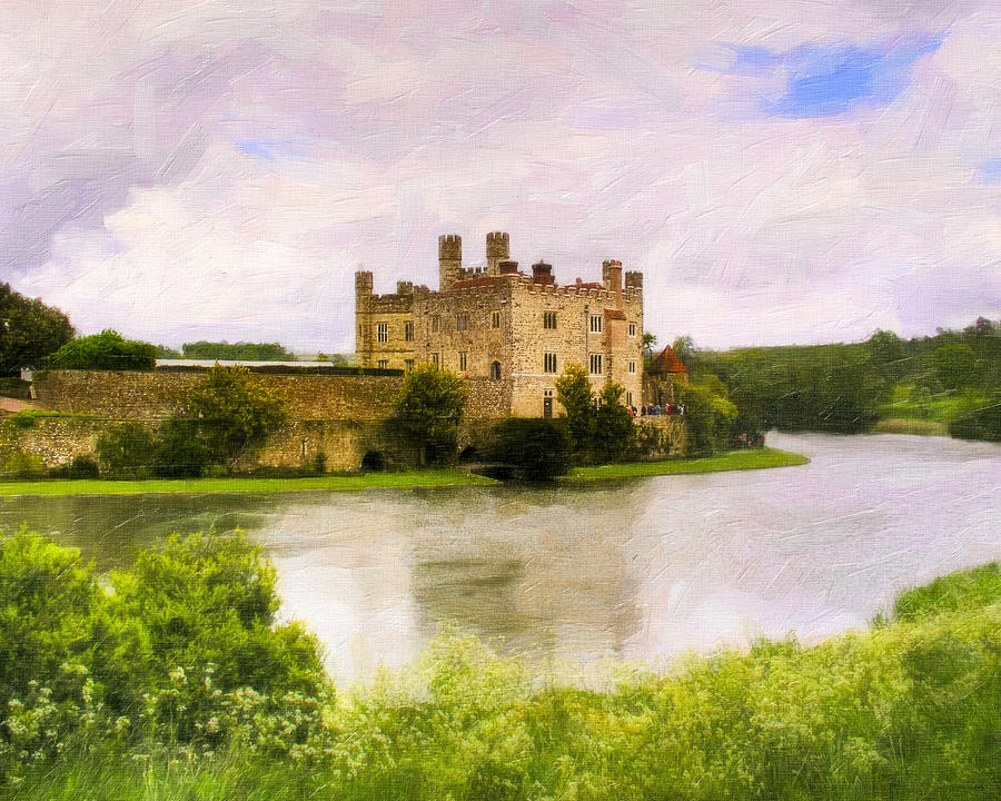 Spring At Leeds Castle Photograph  - Spring At Leeds Castle Fine Art Print