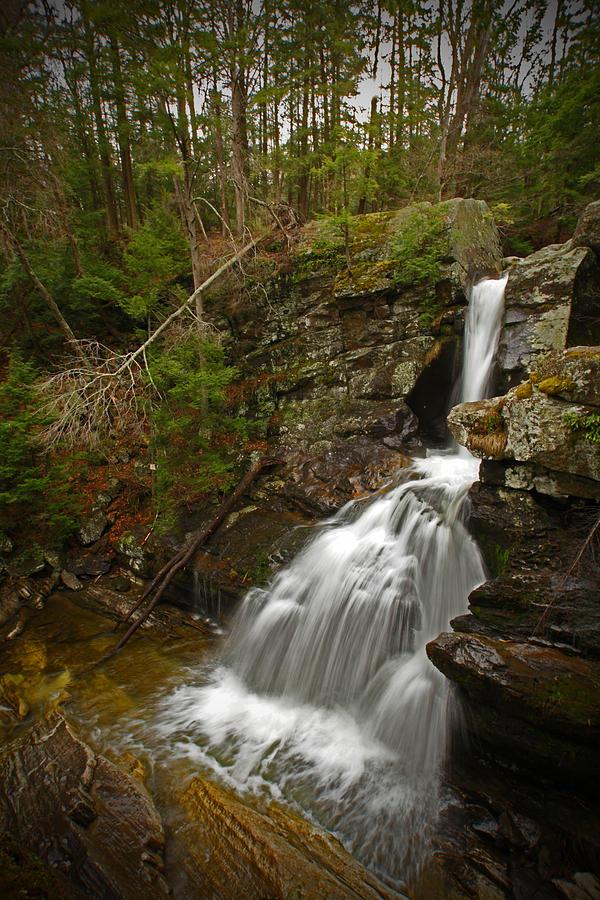 Waterfalls Photograph - Spring Falls by Karol Livote