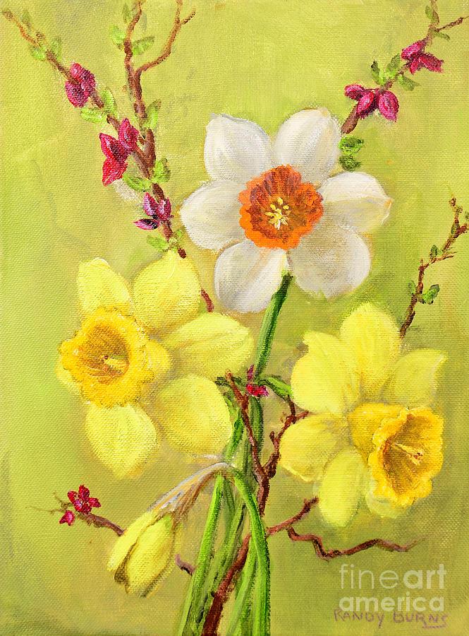 Spring Flowers Painting