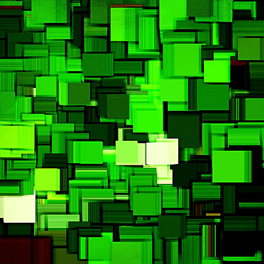 Spring Modern Abstract Xiv Digital Art