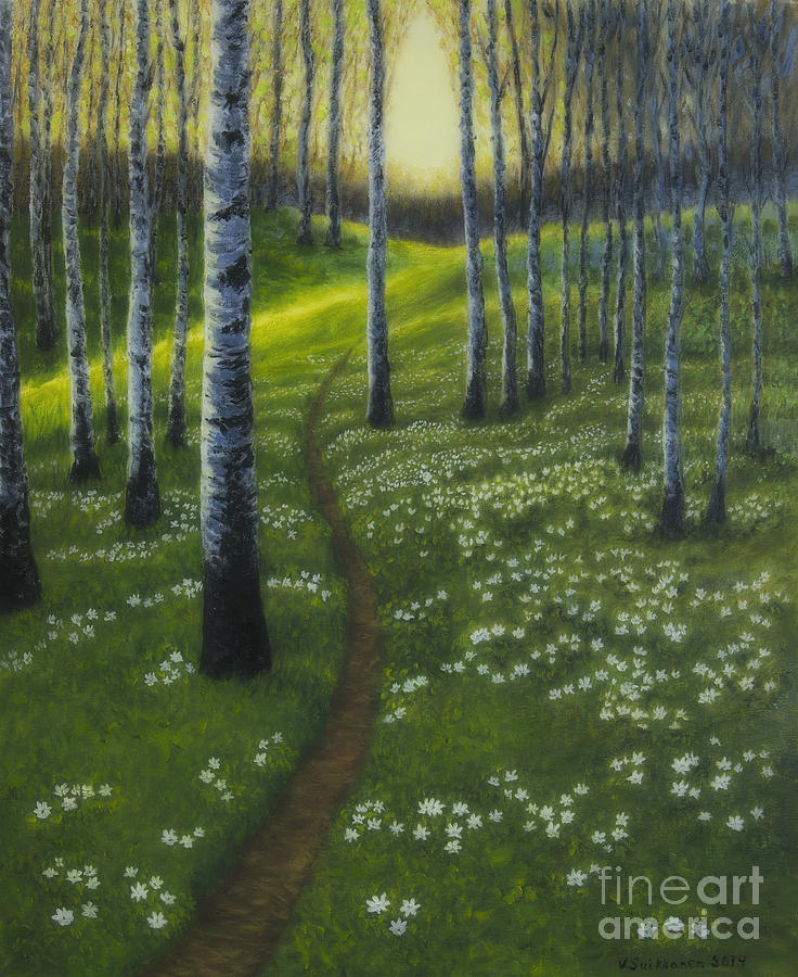 Spring Path Painting