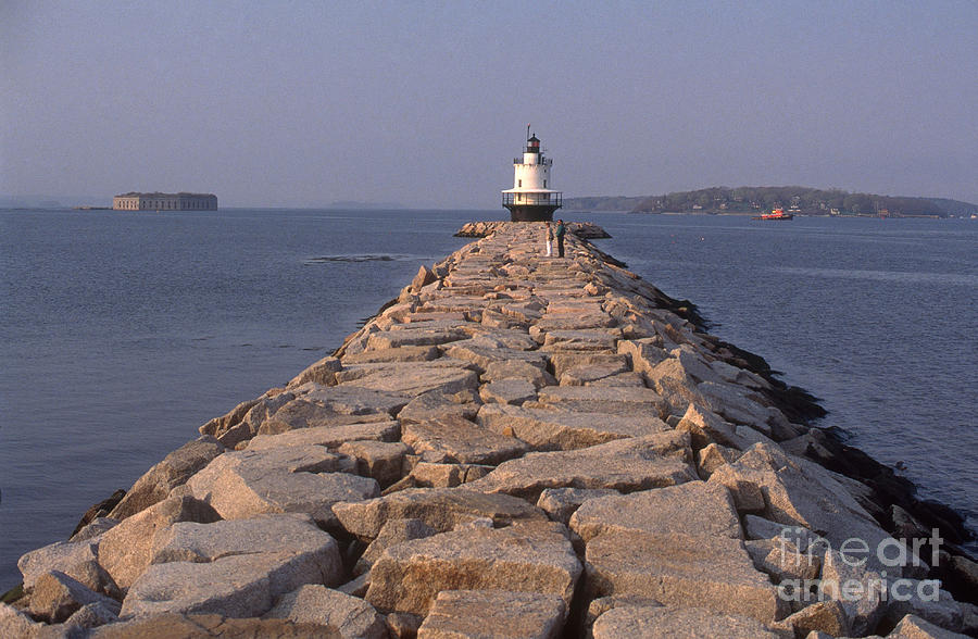 Spring Point Ledge Lighthouse Photograph