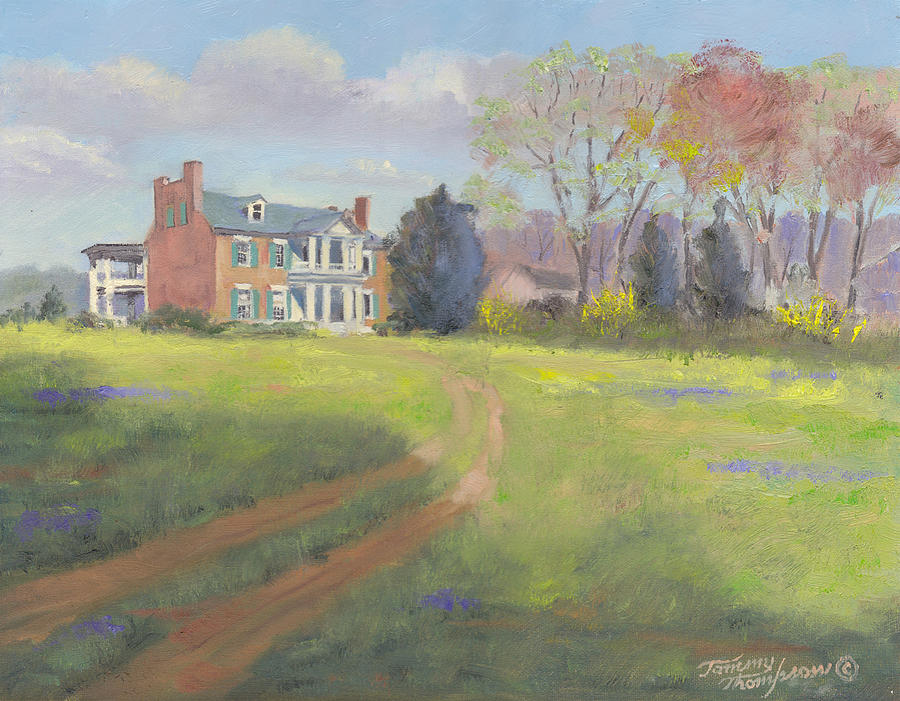 Springtime At Carnton Painting