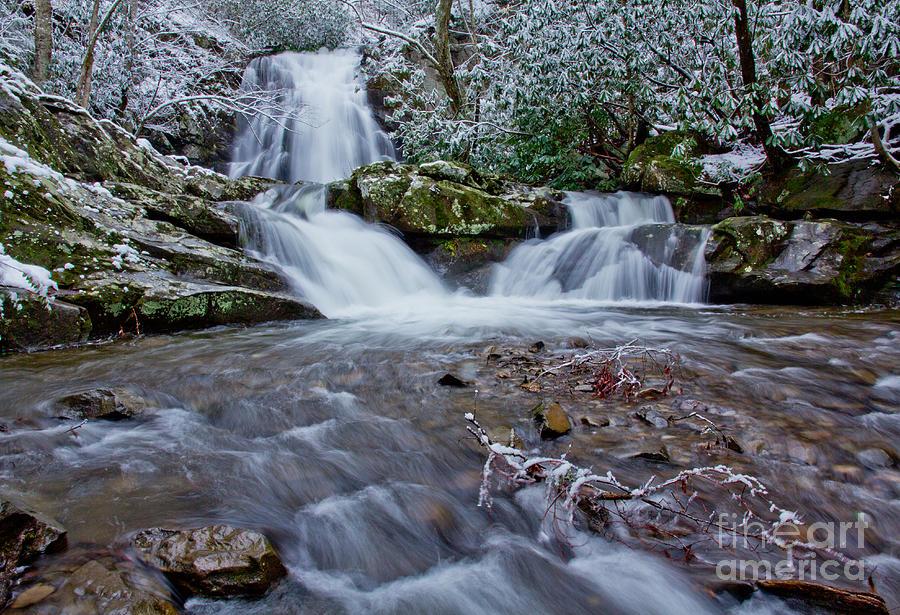 Waterfall Photograph - Spruce Flats Falls II by Douglas Stucky