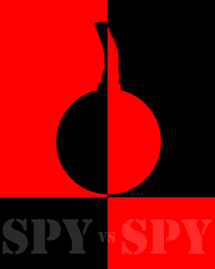 Spy Vs Spy Digital Art  - Spy Vs Spy Fine Art Print