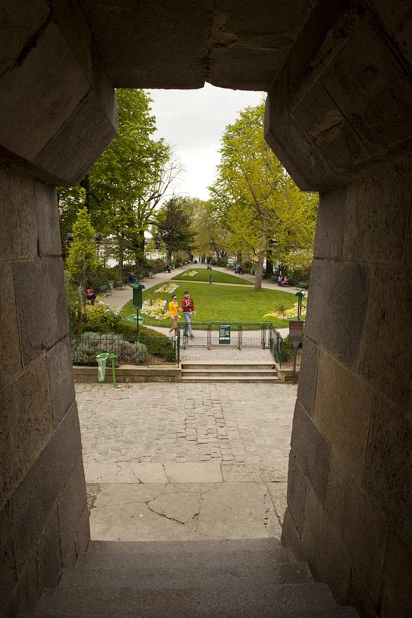 Square Du Vert-galant 1 Photograph