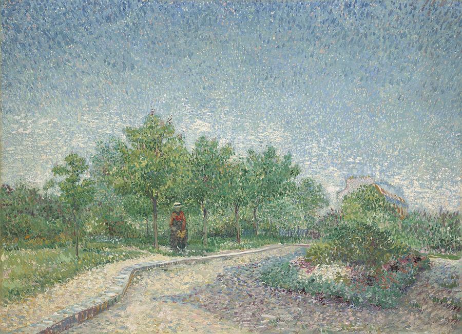 ... pierre Painting - Square Saint-pierre, Paris, 1887 by Vincent van Gogh