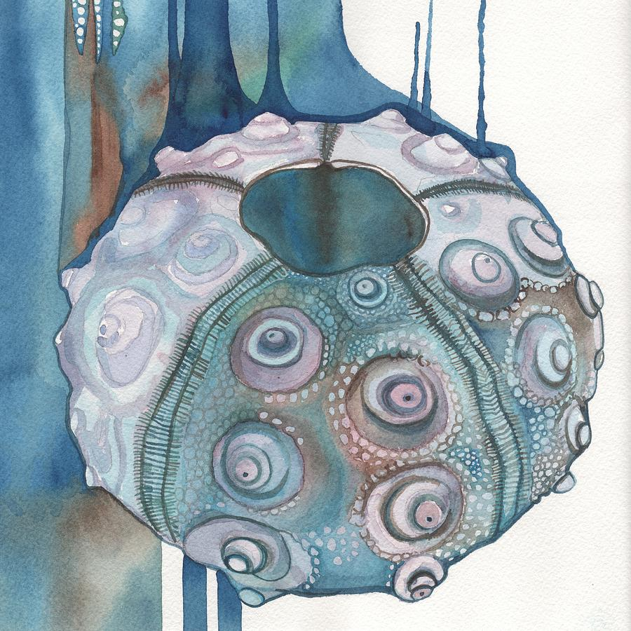Square Urchin Painting