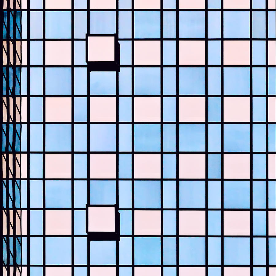 Abstract Photograph - Squares by Ksenia Voeykova