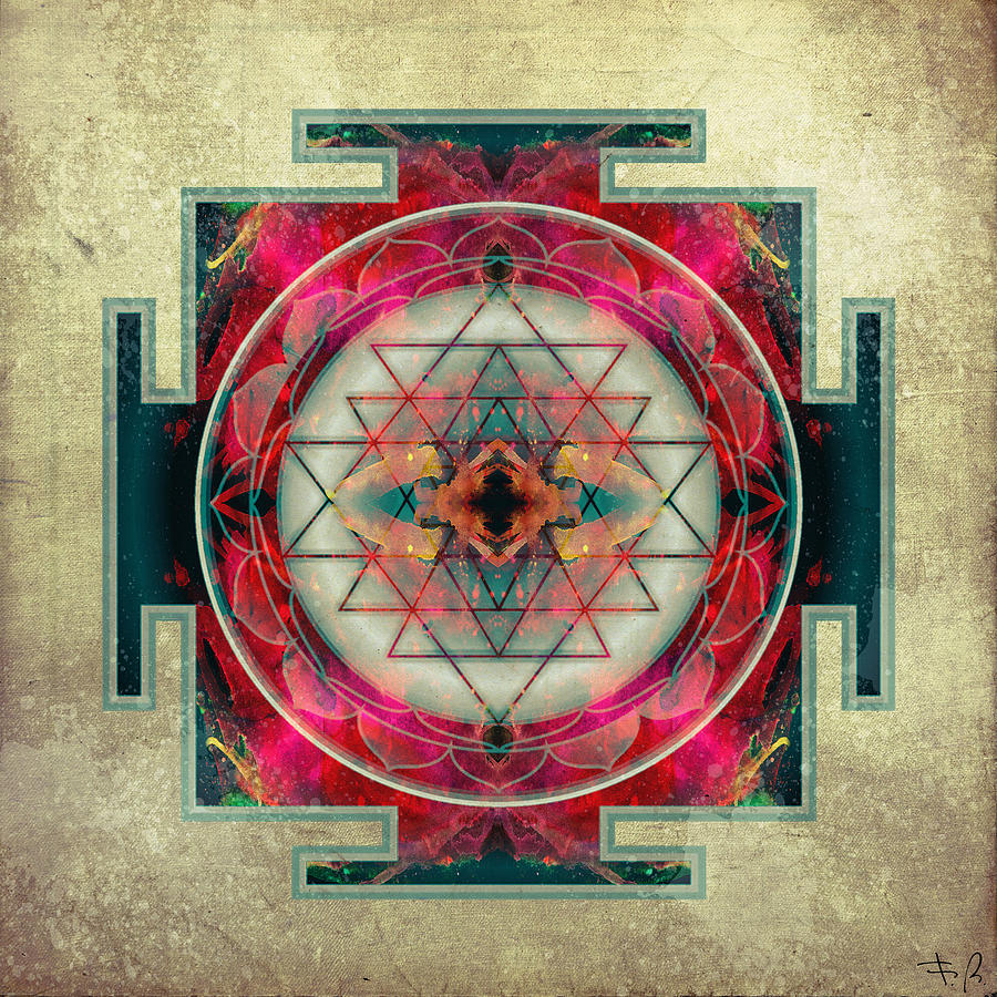Sri Yantra  Digital Art