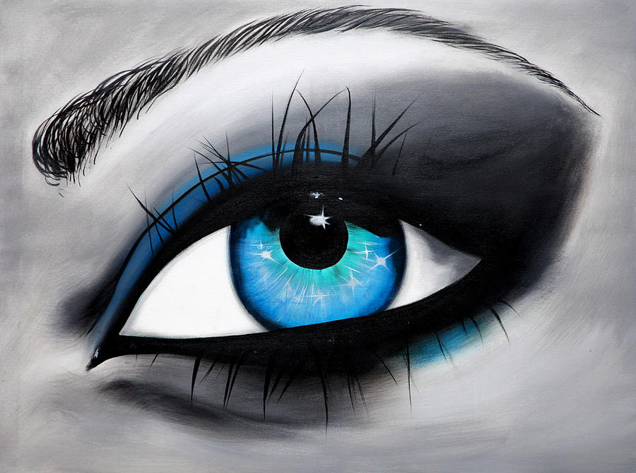 St 03 Eyes Painting