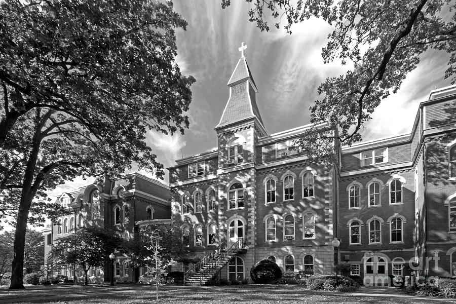 St. Ambrose University Ambrose Hall Photograph  - St. Ambrose University Ambrose Hall Fine Art Print