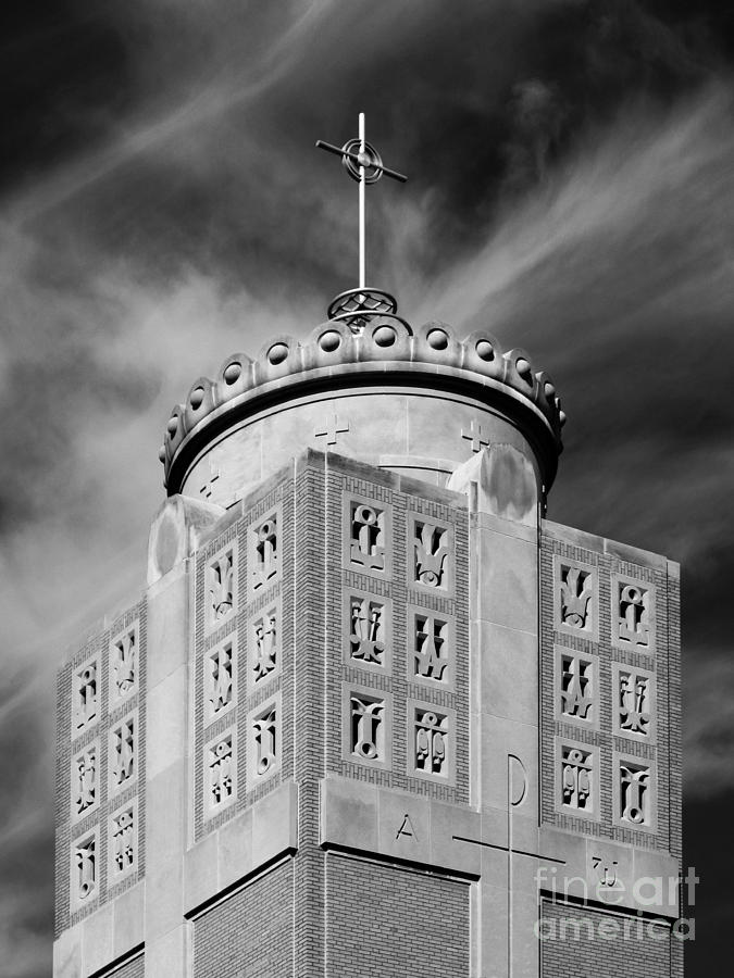 St. Ambrose University Christ The King Chapel Photograph