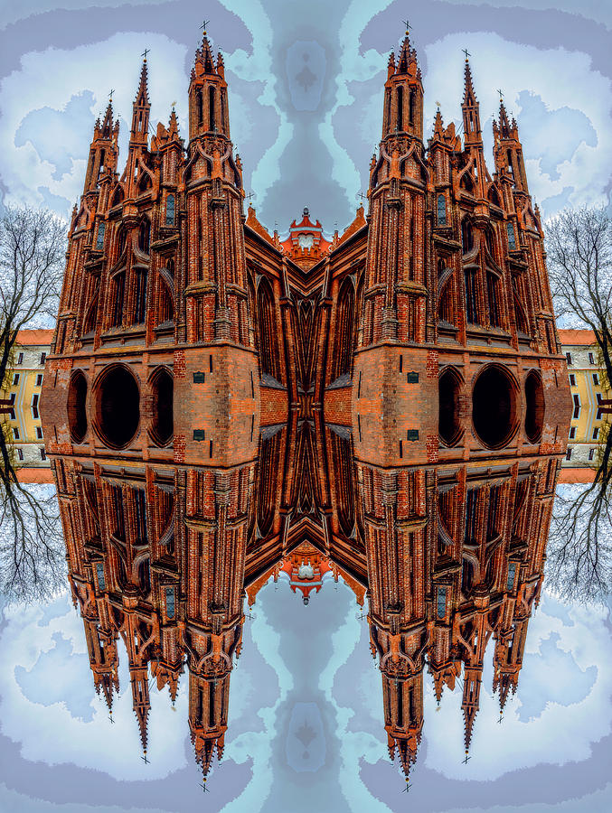 St. Annes Church Art Photograph  - St. Annes Church Art Fine Art Print