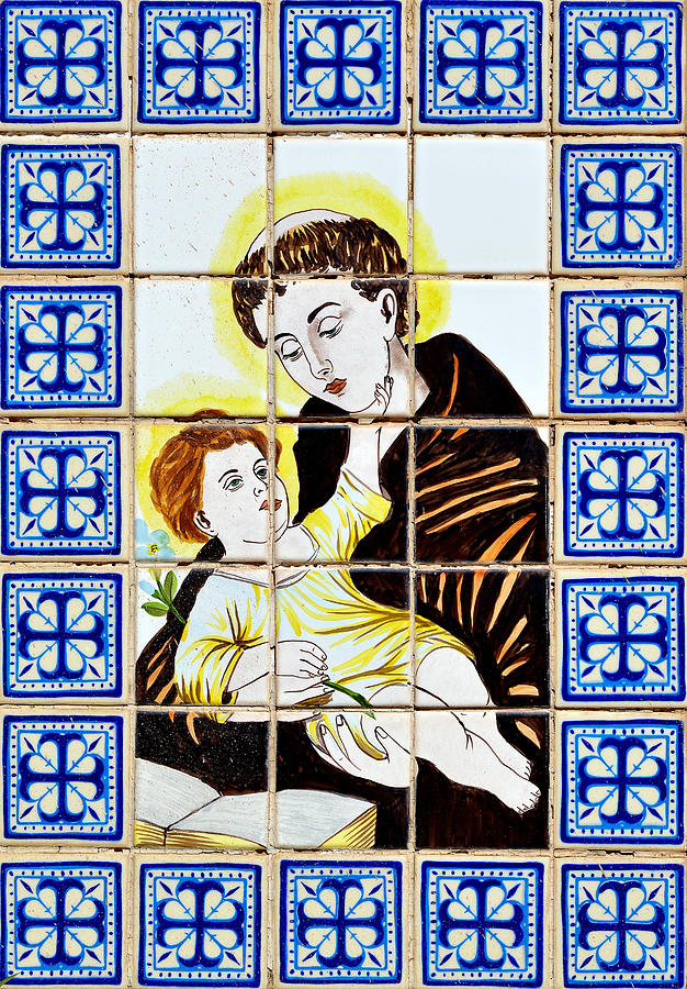 St Anthony Of Padua Photograph