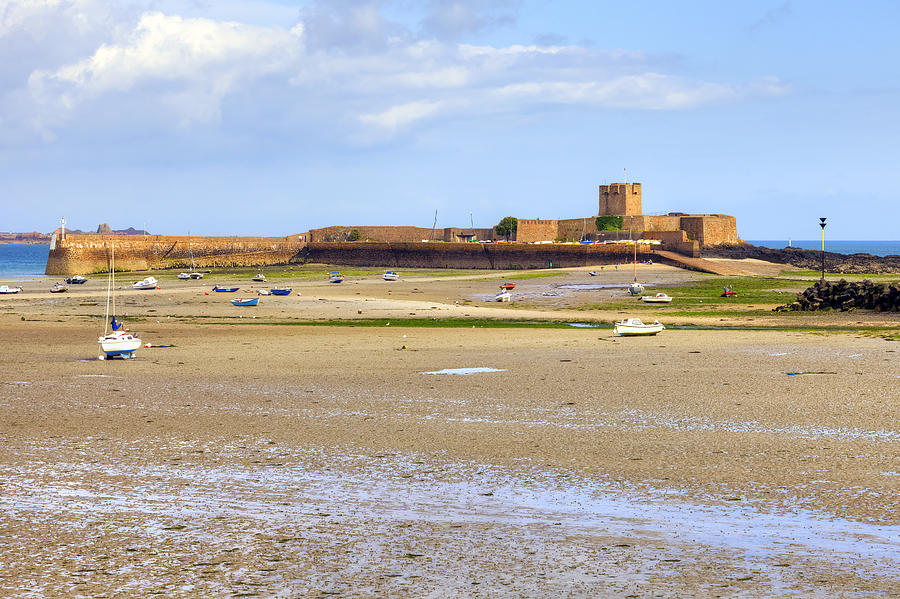St Aubin's Fort Photograph - St Aubins Fort - Jersey by Joana Kruse