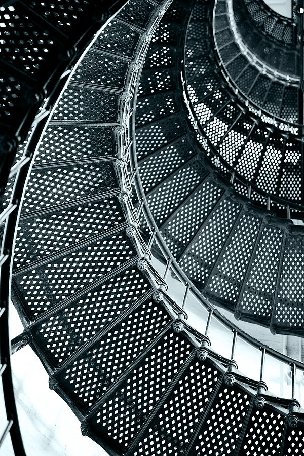 Saint Photograph - St Augustine Lighthouse Staircase by Christine Till
