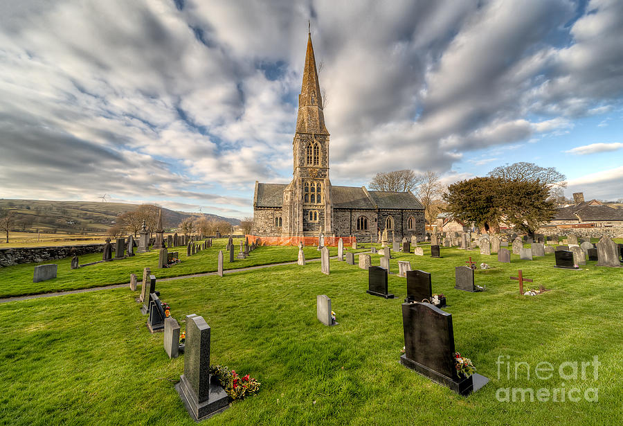 St Beuno Church Photograph  - St Beuno Church Fine Art Print
