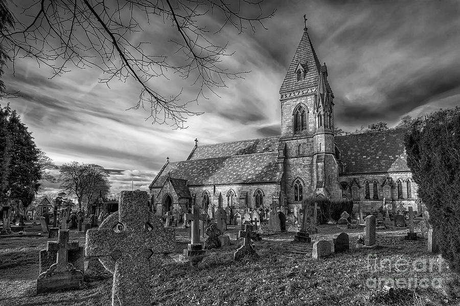 St. David Photograph - St Davids Pantasaph by Adrian Evans