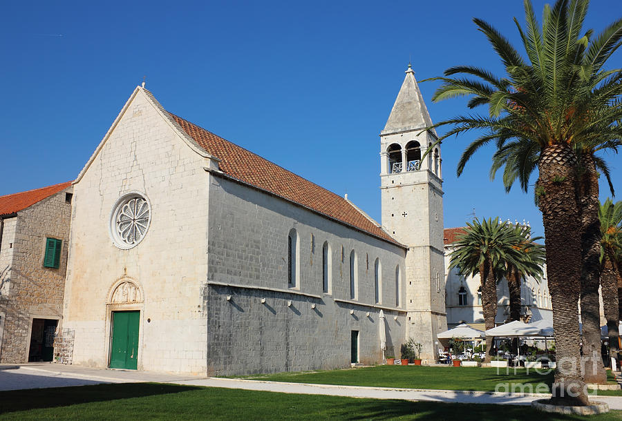 St Dominic Monastery In Trogir Photograph