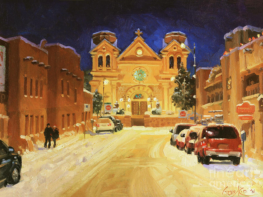 St. Francis Cathedral Basilica  Painting