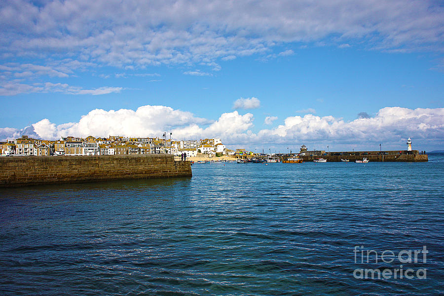St Ives Photograph - St Ives Cornwall by Terri Waters