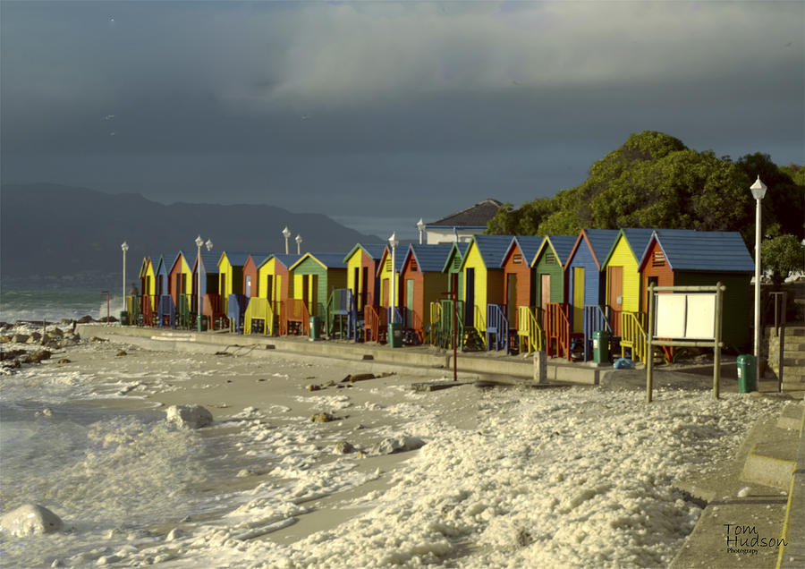Cape Town Photograph - St James Beach by Tom Hudson