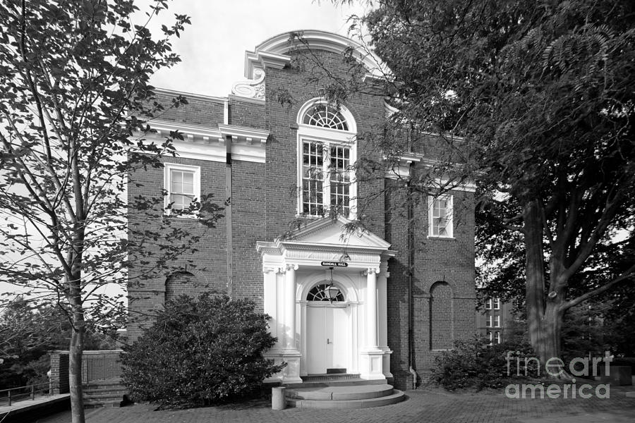 St. Johns College Annapolis Randall Hall Photograph  - St. Johns College Annapolis Randall Hall Fine Art Print