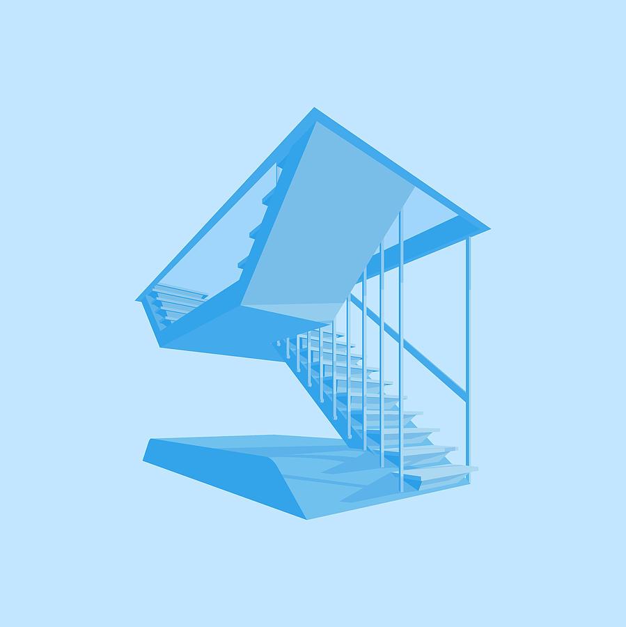 St Johns Stairs Digital Art