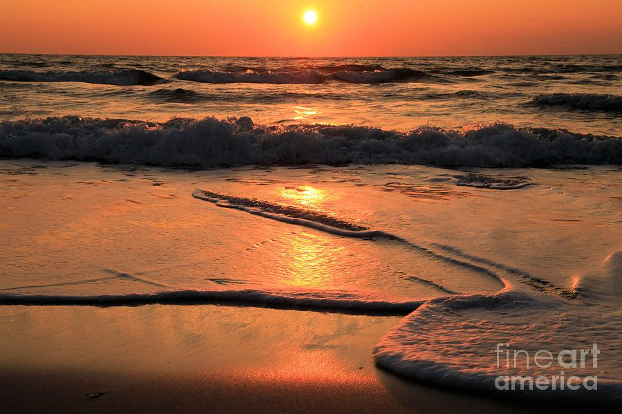 St. Joseph Sunset Swirls Photograph  - St. Joseph Sunset Swirls Fine Art Print