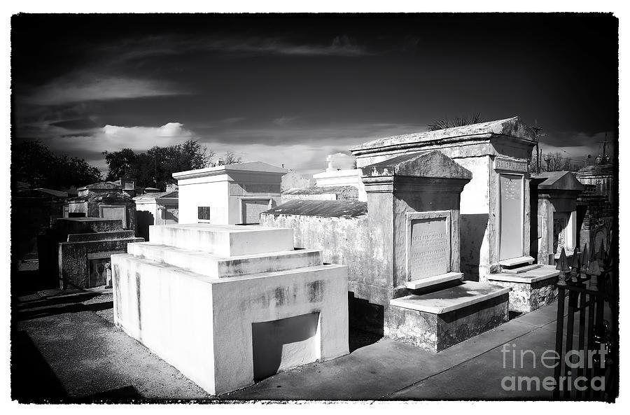 St. Louis Cemetery #1 Photograph