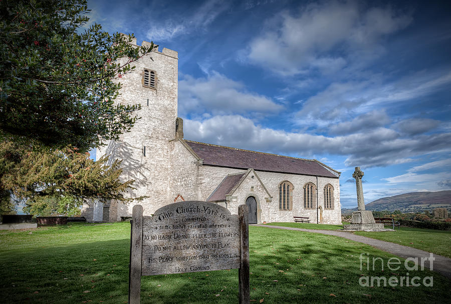 St Marcellas Church Photograph  - St Marcellas Church Fine Art Print