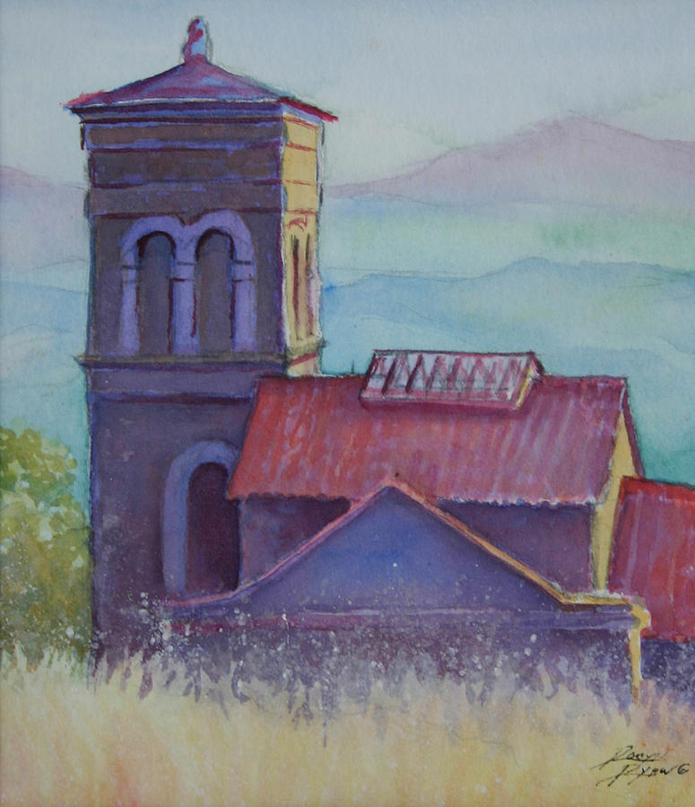 Italy Painting - St. Margarita by Robyn Ryan